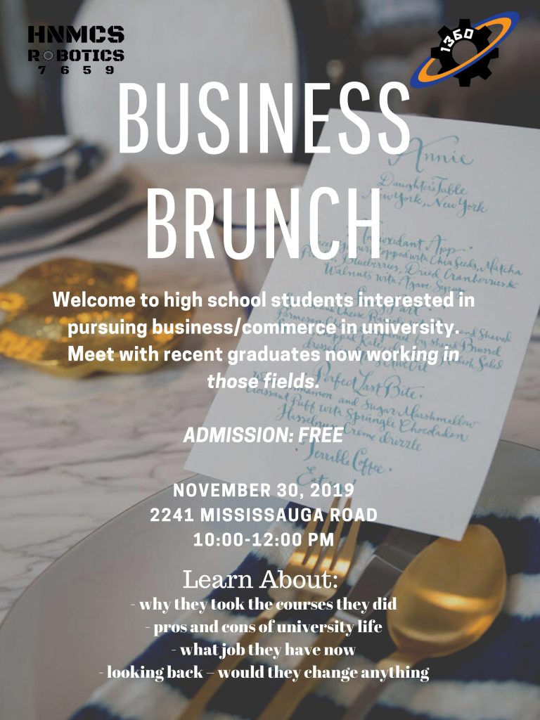 Business Brunch 2019 Poster